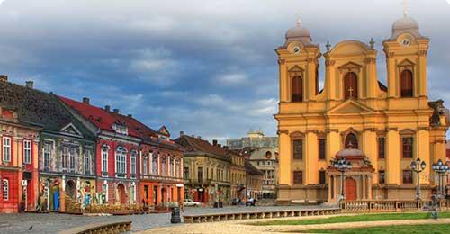 Halvat lennot ja hotellit Timisoara Travellinkilta