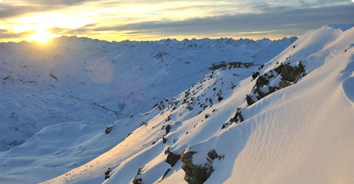 Halvat lennot Val thorens